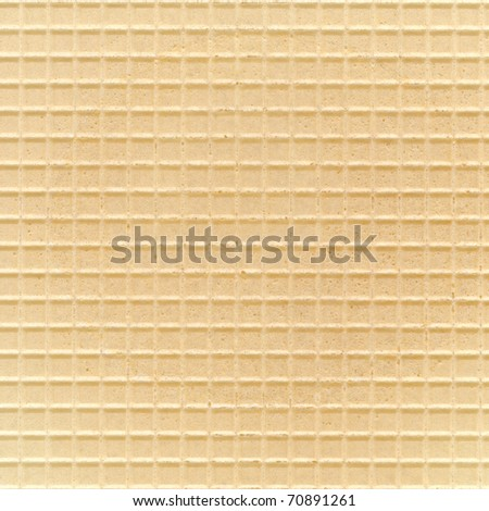 Light wafer background texture - stock photo