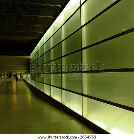 light wall - stock photo