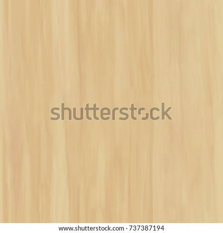 Light Wood Seamless Background Cartoon Texture