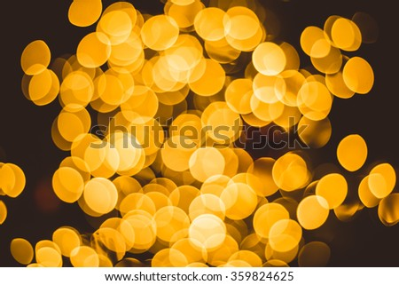 light yellow night blur party christmas