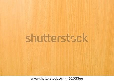 Light yellow wooden horizontal background - stock photo