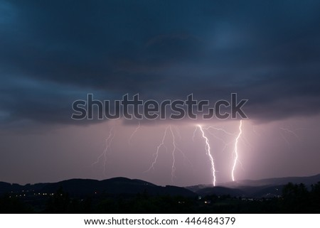 lightening bolts