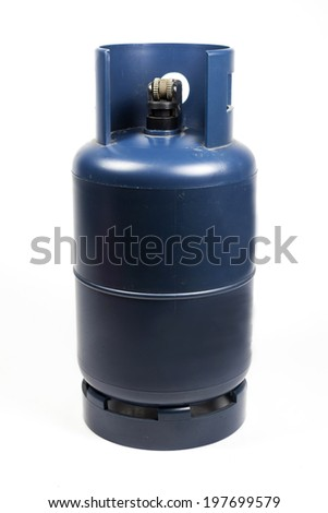 Lighters gas lpg model on a white background. - stock photo
