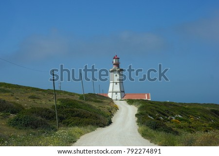 Lighthouse at Cabo Espichel, Portugal