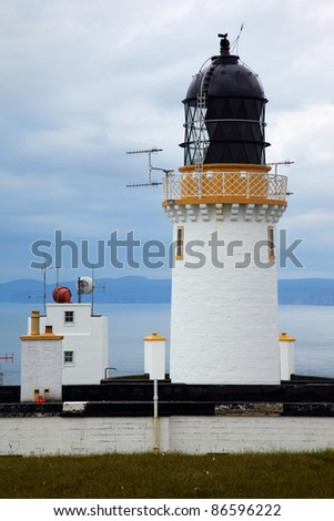 Lighthouse at Dunnet Head - the north point of scotland