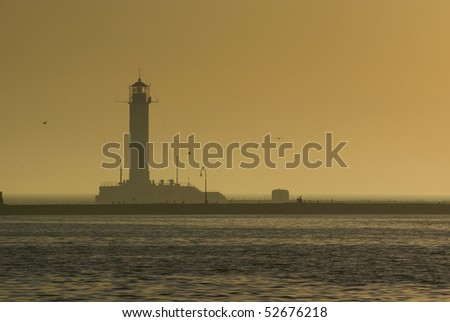 Lighthouse at early morning