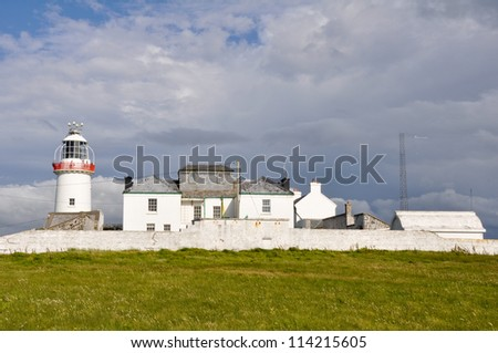 Lighthouse at Loop head cliffs, Ireland