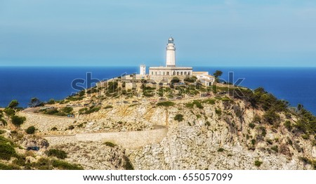 Lighthouse Formentor on Majorca