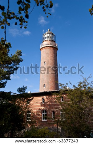 Lighthouse in Darss, Germany