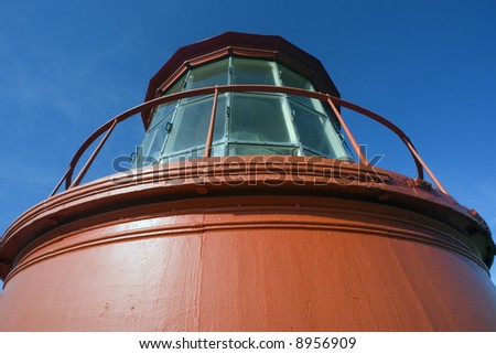 Lighthouse in St. Augustine, FLorida. - stock photo