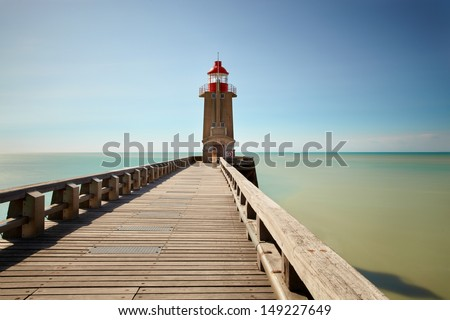 Lighthouse in the North of France
