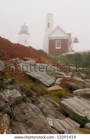 Lighthouse Landscape - stock photo