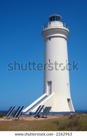 Lighthouse operated by solar power at Port Stephens, Australia