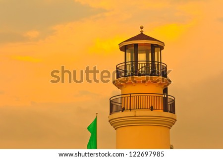 Lighthouse tower - stock photo