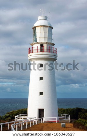 lighthouse view in Victoria.Australia