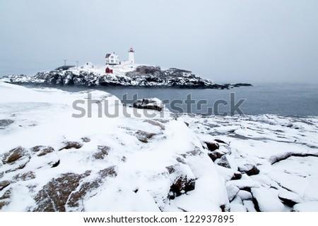 Lighthouses - stock photo