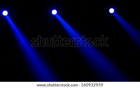 lighting background - stock photo