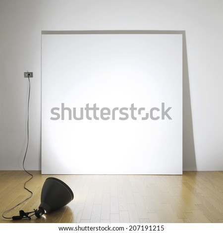 lighting frame  - stock photo