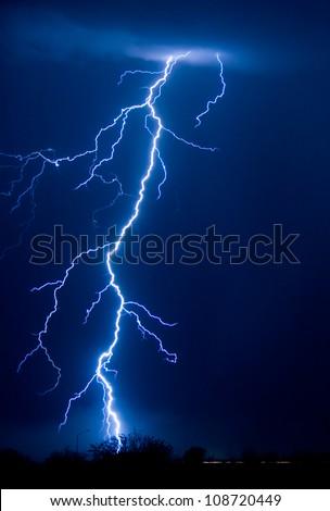 Lightning 01 - stock photo