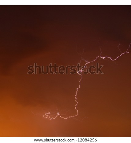 Lightning 1 - stock photo
