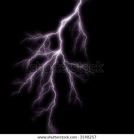 Lightning - stock photo