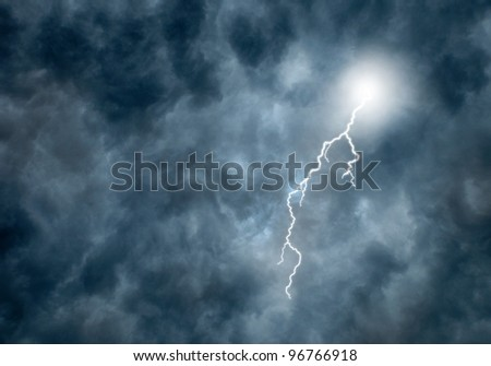 Thunderstorm Clouds Lightning