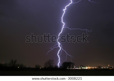 Lightning Cloud Bolt thunder Storm