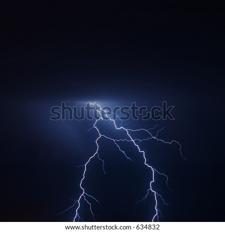 Lightning from above