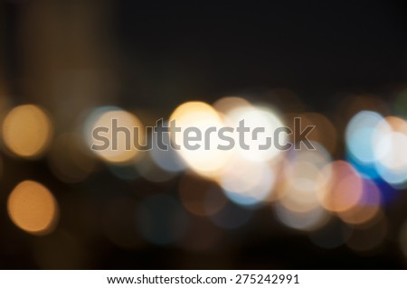 lights background colorful defocused - stock photo
