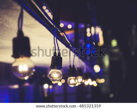 Lights Decoration Event Festival Outdoor Night Party