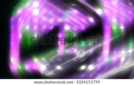 Lights Multicolored Background. illustration beautiful.