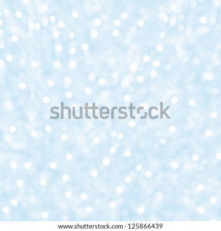 Lights on blue background. - stock photo
