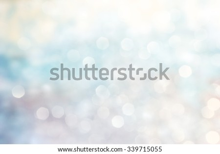 Lights on blue, red and white background. Christmas luxury fresh elegant bokeh background. - stock photo