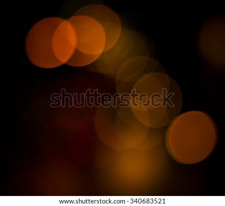 Lights on bokeh as background. - stock photo
