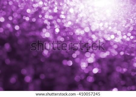 Lights on Purple  background,bokeh - stock photo