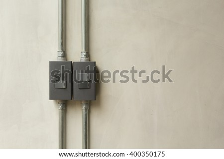 Lightswitch on Wall