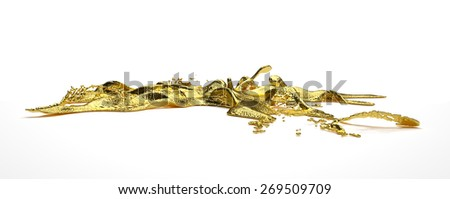 liguid gold - stock photo