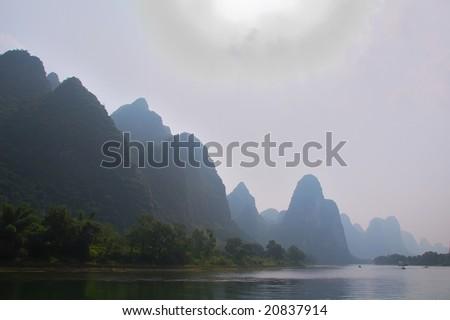 LiJiang River - stock photo