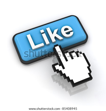 Like button - stock photo