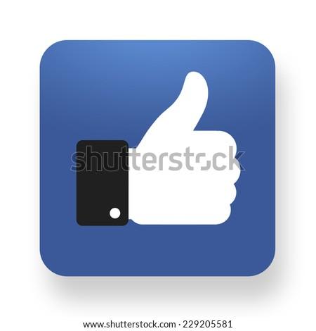 like icon - stock photo