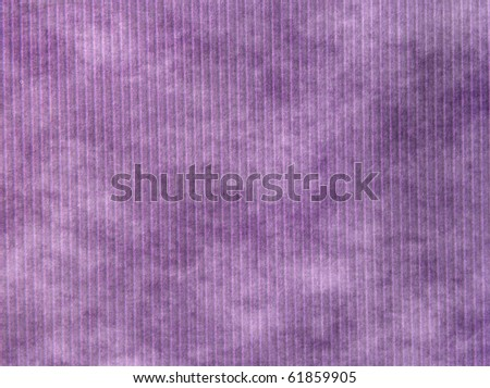 lilac paper background with stripes - stock photo