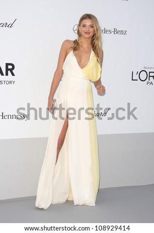 Lily Donaldson arriving for AmfAR's Cinema Against Aids gala 2012 during the 65th annual Cannes Film Festival Cannes, France. 24/05/2012 Picture by: Henry Harris / Featureflash