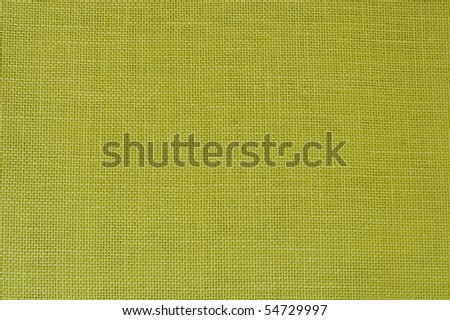 LIME GREEN LINEN FABRIC AS BACKGROUND - stock photo