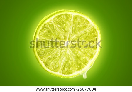 Lime Squeeze - stock photo