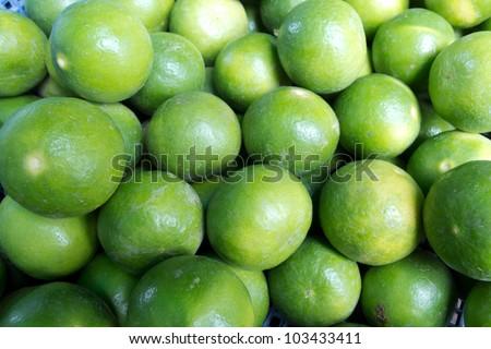 limes - stock photo