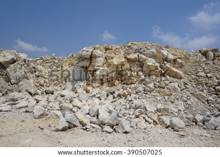 limestone production