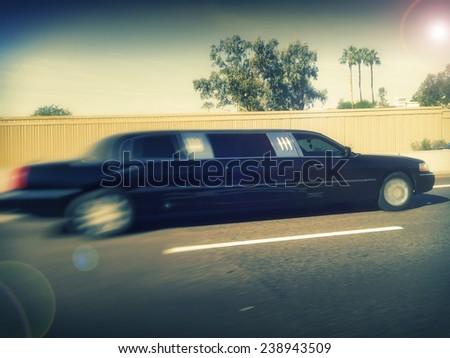 Limo service transportation service   - stock photo