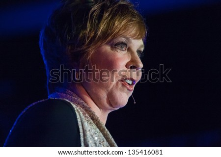 LINCOLN, CA - APR 13: Vicki Lawrence performs at Thunder Valley Casino Resort in Lincoln, California on April 13, 2013