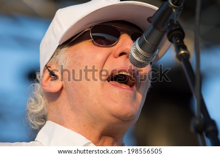 LINCOLN, CA - June 7: Paul Dean of Loverboy performs at Thunder Valley Casino Resort in Lincoln, California on June 7, 2014