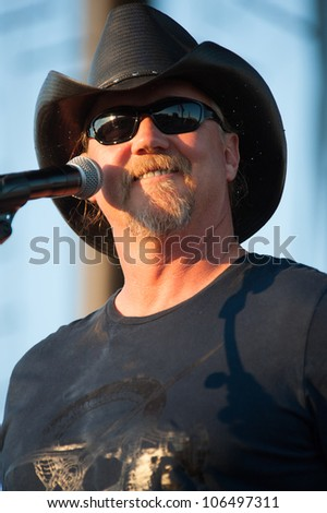 LINCOLN, CA - JUNE 29: Trace Adkins performs at Thunder Valley Casino Resort in Lincoln, California on June 29, 2012